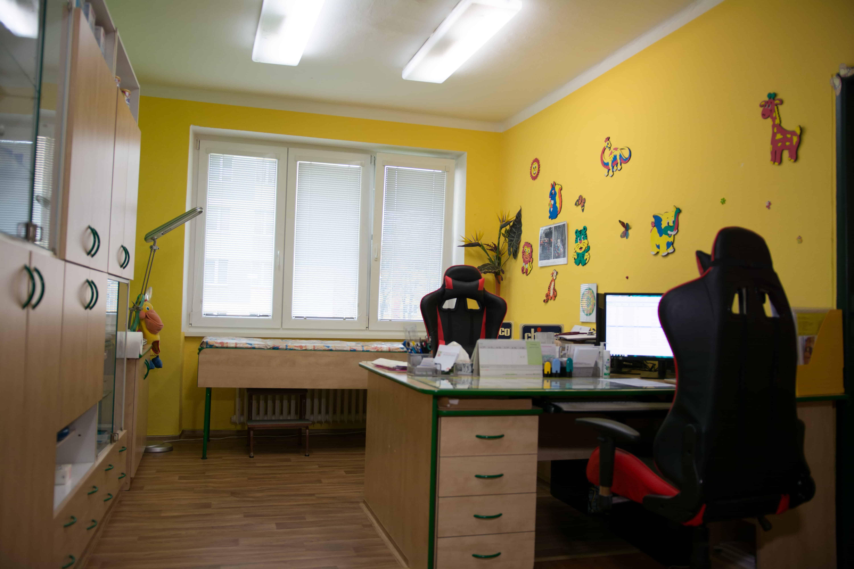 dětská ambulance V Aleji Karviná Ráj MUDr. Milada Canibalová
