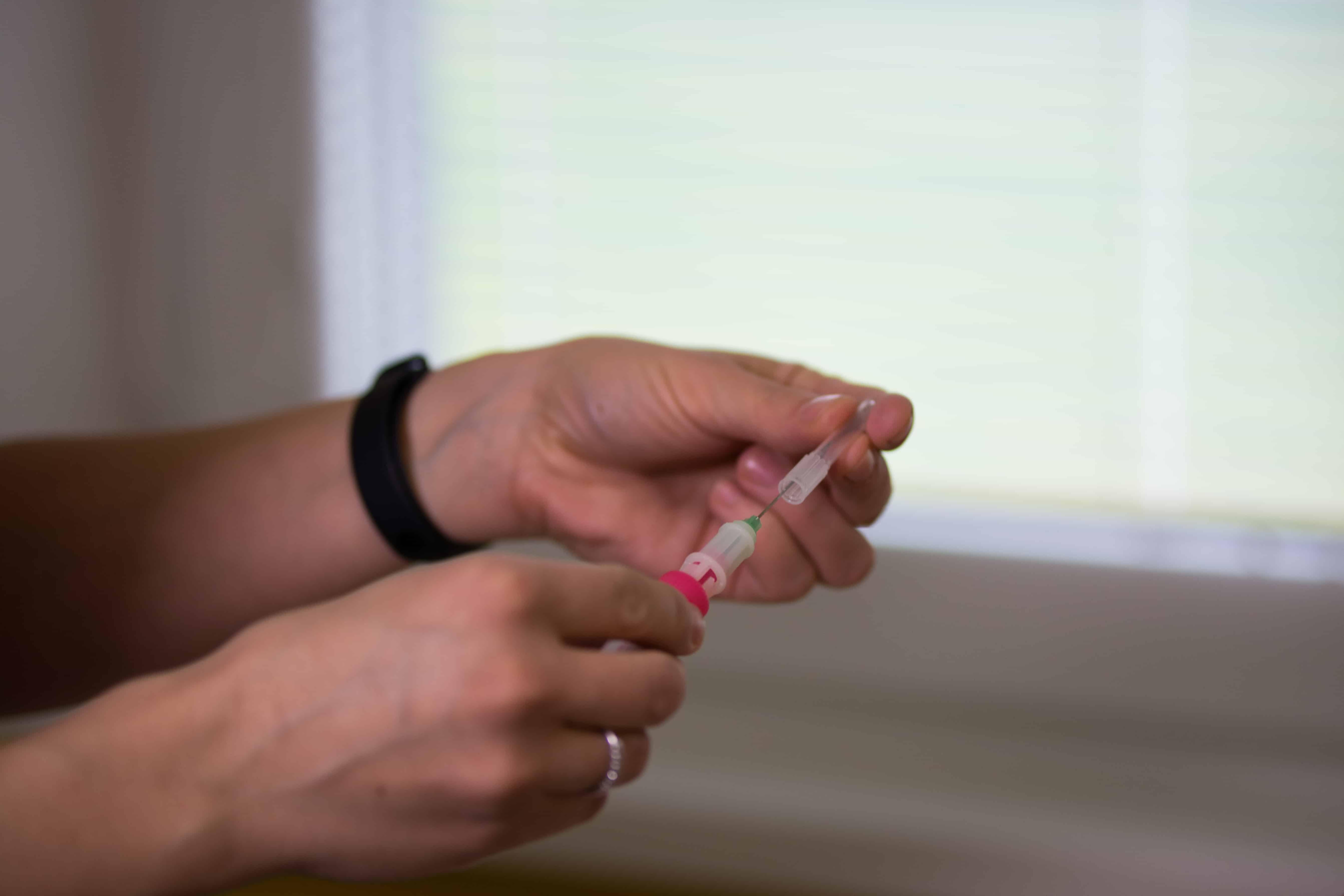 Očkování dětí detail